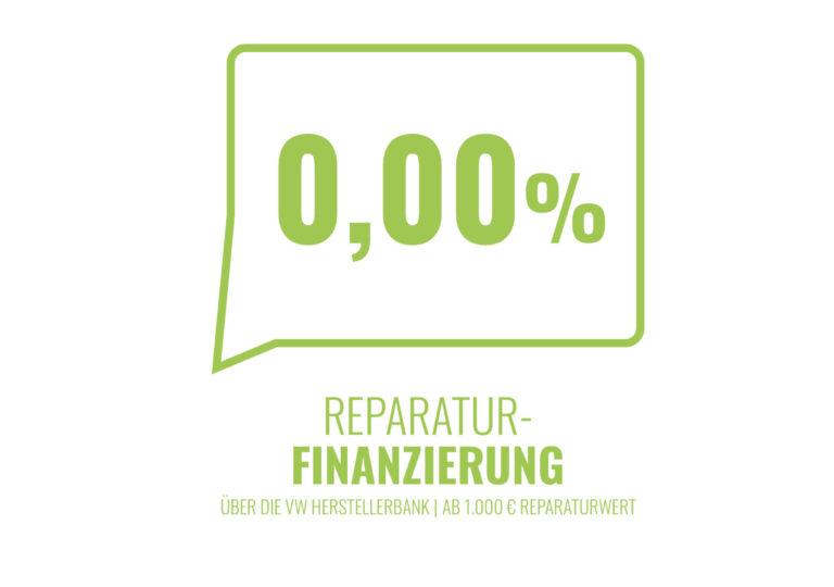 0% Reparaturfinanzierung