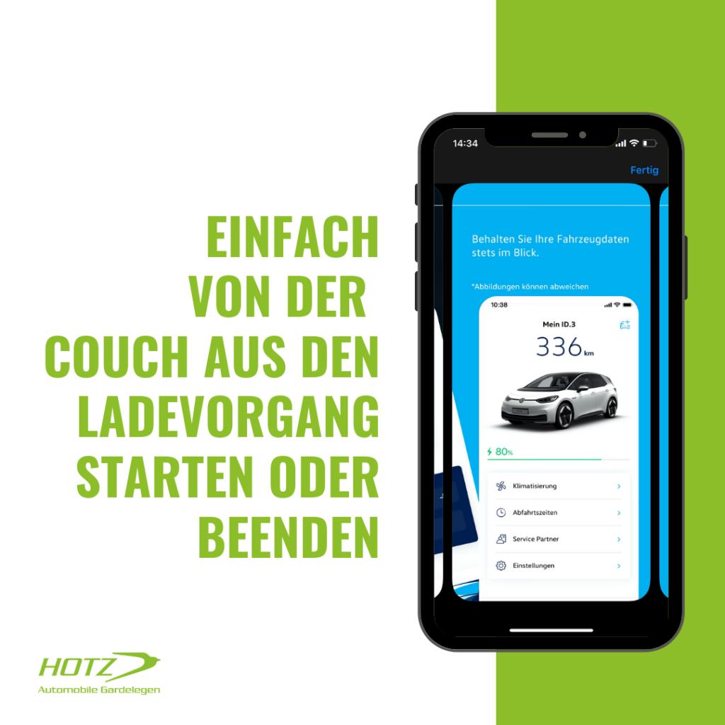 Elektrofahrzeuge von VW ist We Connect