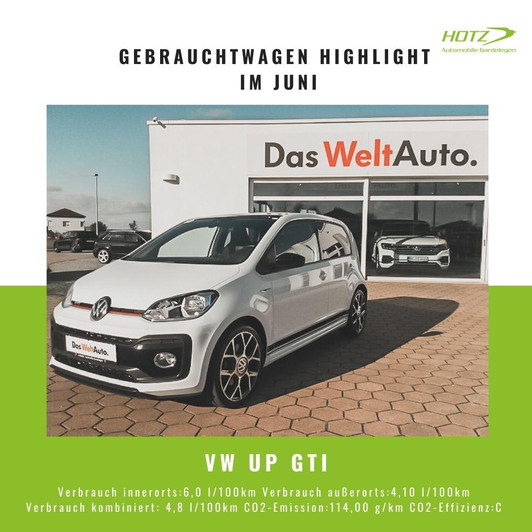 VW Up GTI Hotz Gardelegen Gebrauchtwagen